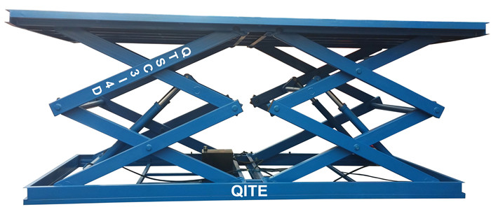 Hydraulic Scissor Car Lifting Table For Floor To Floor Transportation