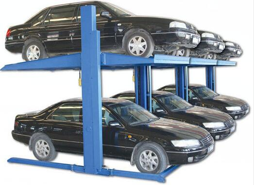 Electric Control Hydraulic Two Post Garage Auto Car Parking Lifts System