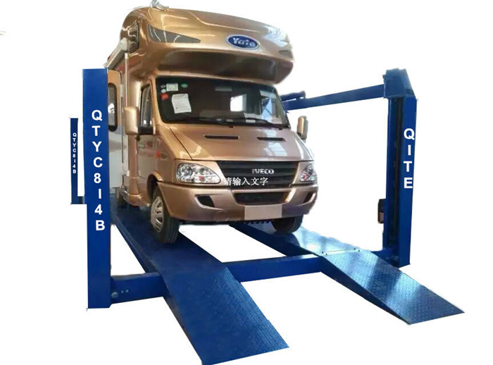 16t Truck/bus Lift Hydraulic Four Post Hoist With 1700mm Lifting Height