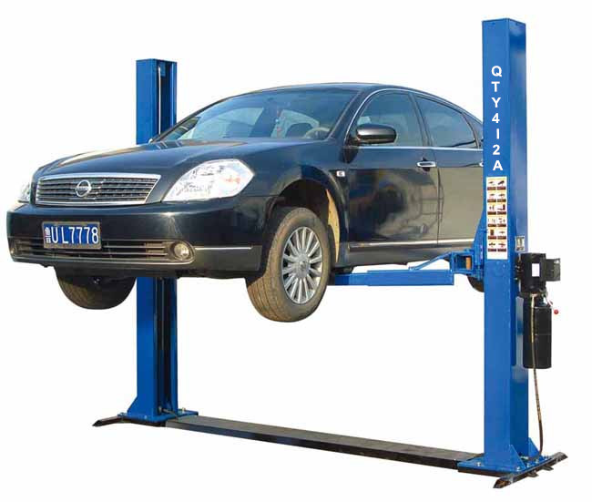 3t Two Post Plate Cover Hydraulic Car Lift