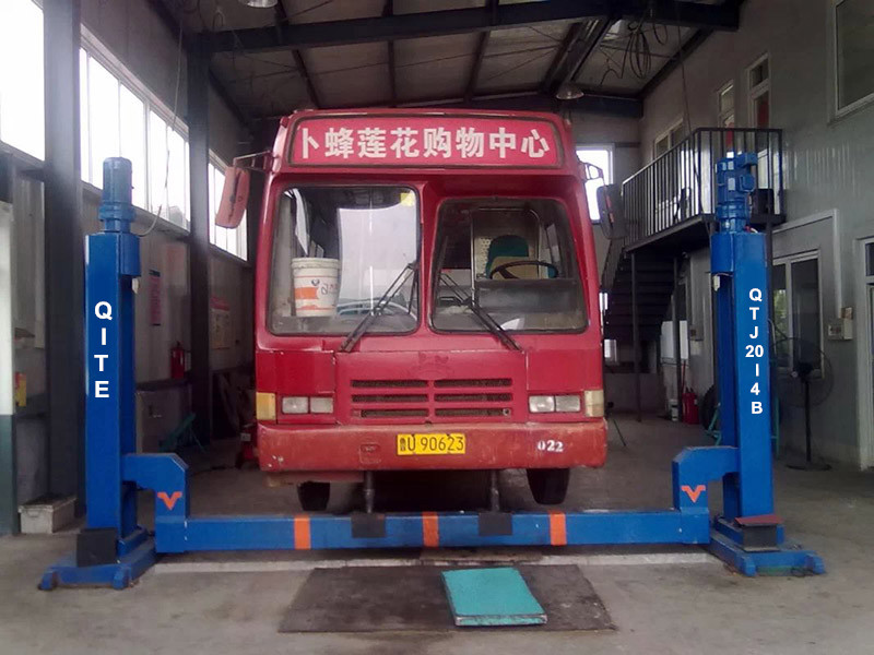 10t Four Post Electric Mechanical Beam Car Lift