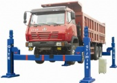Mechanical Screw Mobile Car Service Beam Lifts