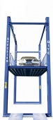 Hydraulic Four Post Car Elevator Machine For Basement Car Parking