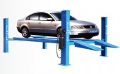 4t Hydraulic Wire Rope 4 Post Wheel Alignment Car Hoist