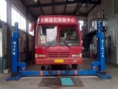 15t Lifting Unit Four Post Combined Mobile Column Truck/bus Lift