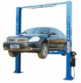 3t hydraulic clear floor two post car lift