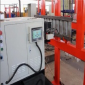 Chinese factory heavy arc plasma machine for corrugated metal welding